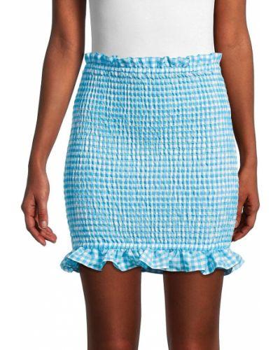 Синяя юбка мини Bcbgeneration