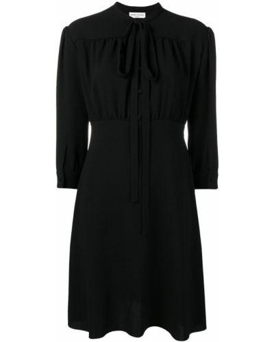 Платье на пуговицах - черное Sonia Rykiel