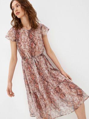 Коричневое повседневное платье Betty And Co