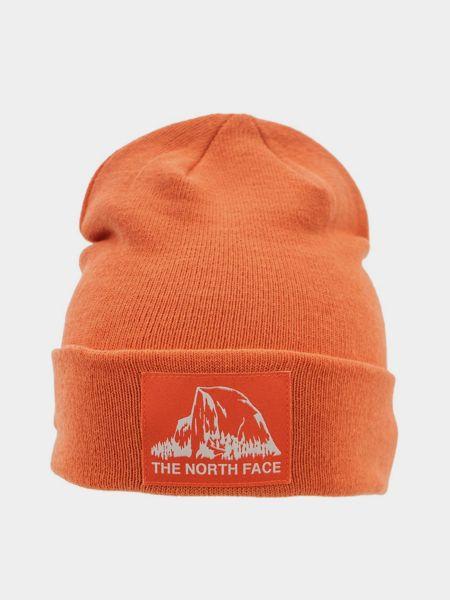 Шапка бини - оранжевая The North Face