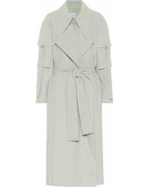 Пальто классическое мятное Low Classic