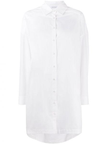 Хлопковая белая рубашка с длинными рукавами Anine Bing