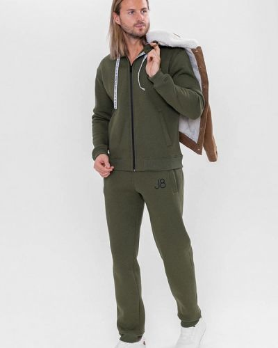Костюмный спортивный костюм хаки Jam8