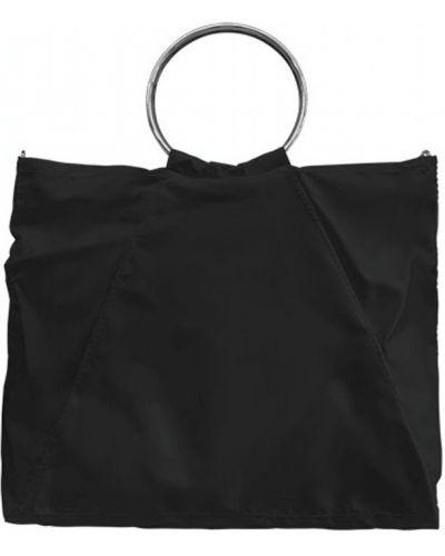 Czarna torebka z nylonu Mia Bag