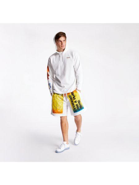 Белые шорты Converse