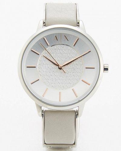 Серые кварцевые часы Armani Exchange