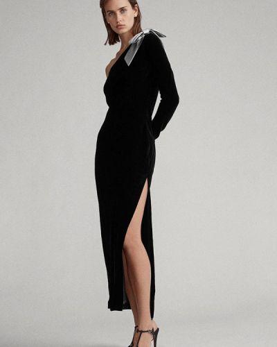 Черное вечернее платье Polo Ralph Lauren