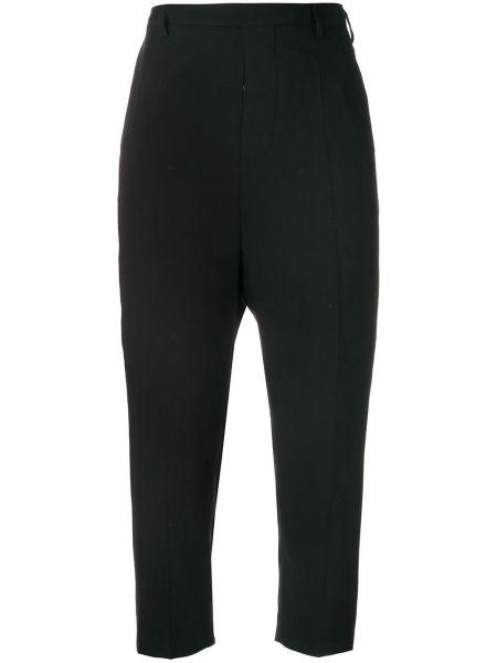 Шерстяные классические брюки - черные Rick Owens
