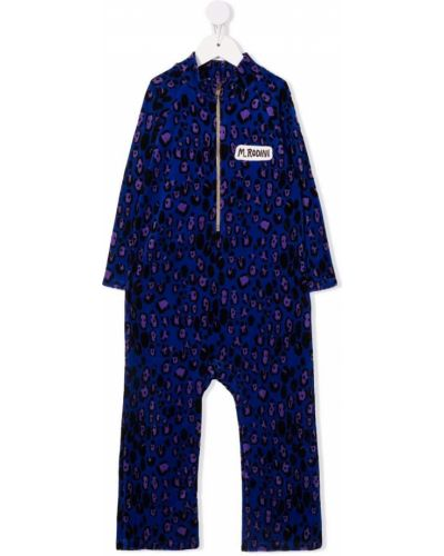 Kombinezon z printem - niebieski Mini Rodini