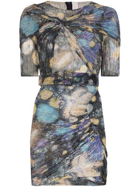 Платье мини деловое на молнии Peter Pilotto