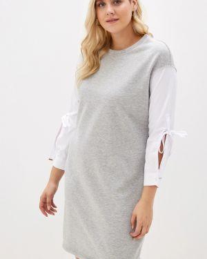 Платье через плечо платье-рубашка Dream World