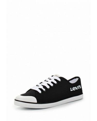 Черные низкие кеды Levi's®