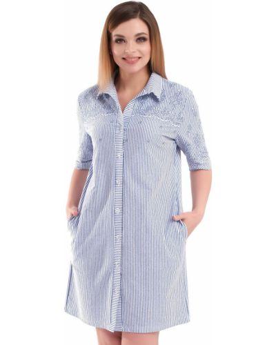 Блузка большой на пуговицах одевайте