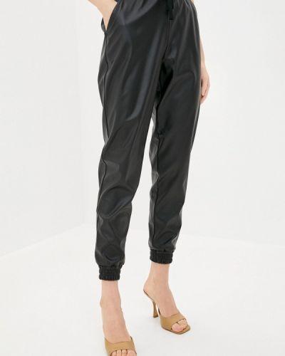 Кожаные черные брюки Teratai