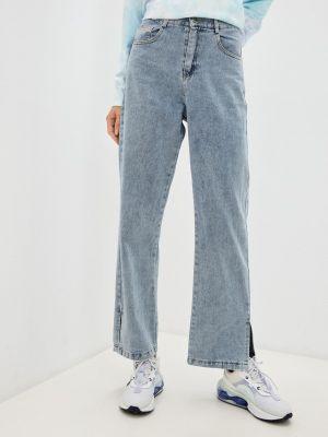 Голубые джинсы осенние Indiano Natural