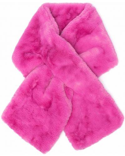 Różowy szalik Apparis