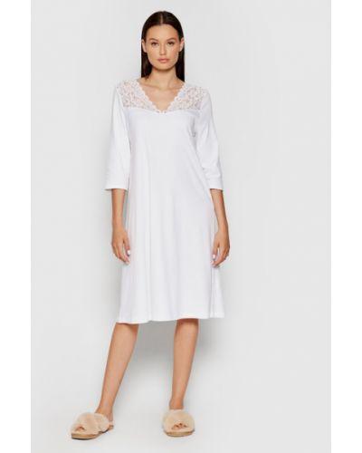 Biała koszula nocna Hanro
