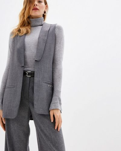 Джинсовый костюм с жилетом итальянский Trussardi Jeans