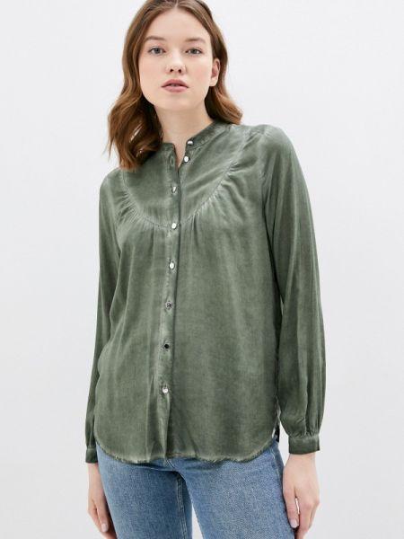 Блузка с длинным рукавом весенний зеленый Q/s Designed By
