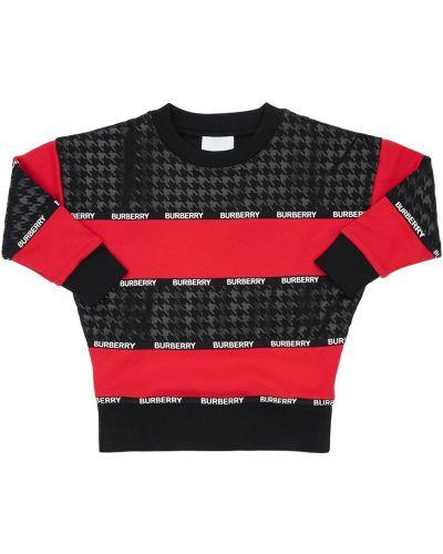 Bawełna bawełna bluza Burberry