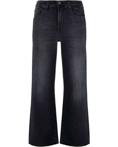 Mom jeans vintage - czarne 7 For All Mankind