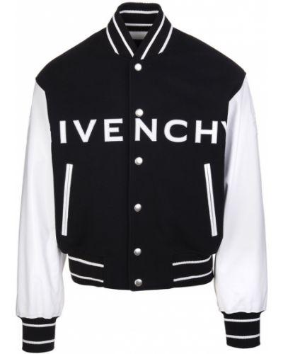 Kurtka skórzana - biała Givenchy