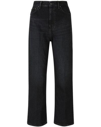Czarne jeansy bawełniane Acne Studios