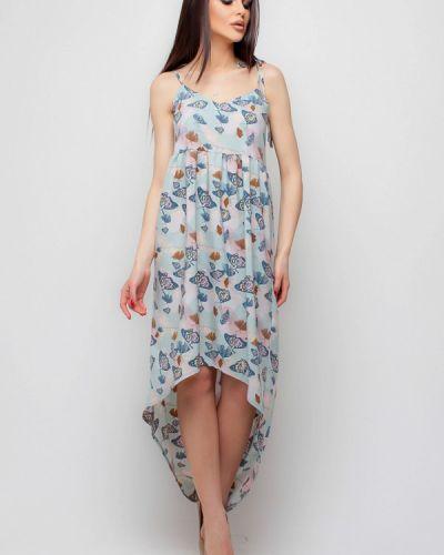 Бирюзовое платье весеннее Karree