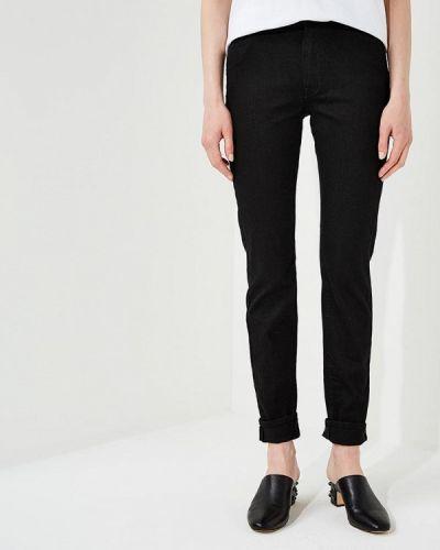 Черные джинсы-скинни Trussardi Jeans