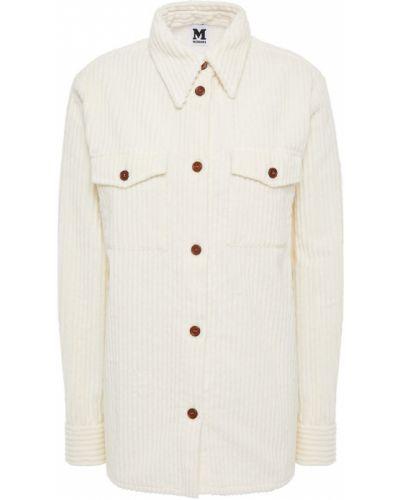 Ażurowa koszula bawełniana zapinane na guziki M Missoni