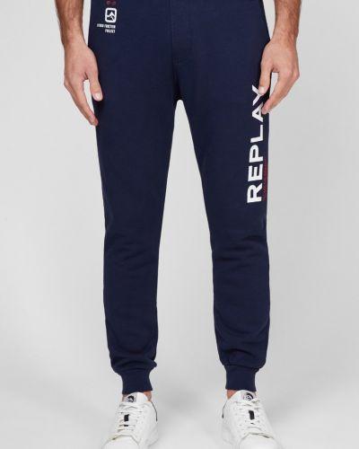 Спортивные брюки - синие Replay