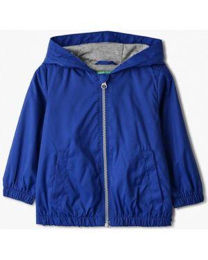 Куртка синий весенний United Colors Of Benetton