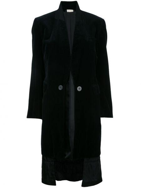 Пальто двустороннее бархатное Comme Des Garçons Pre-owned