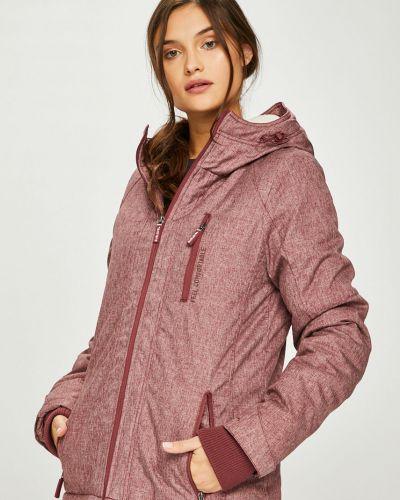 Прямая фиолетовая куртка Sublevel