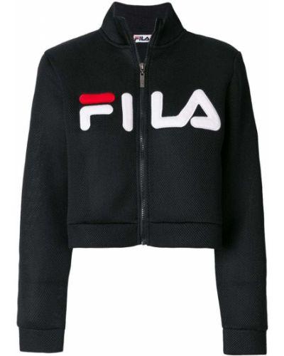 Укороченная куртка длинная спортивная Fila