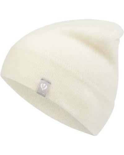 Biała z kaszmiru czapka Fraas
