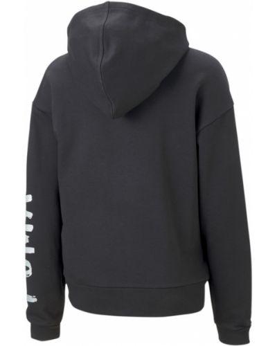 Черная куртка с логотипом Puma