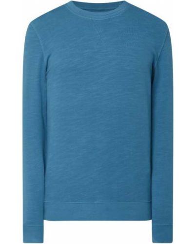 Bluza bawełniana - turkusowa Esprit