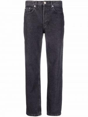 Прямые джинсы классические - черные A.p.c.