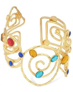 Złota bransoletka ze złota pozłacana Rixo