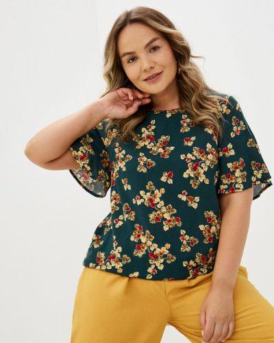 Зеленая весенняя блузка Prewoman