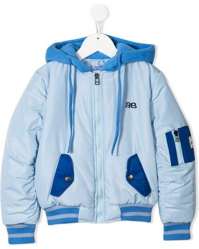 Синяя куртка Bandy Button
