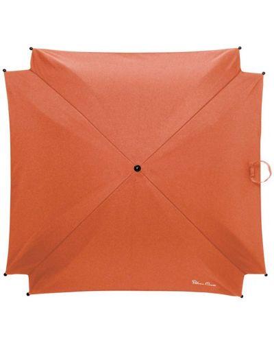 Зонт оранжевый серебряный Silver Cross