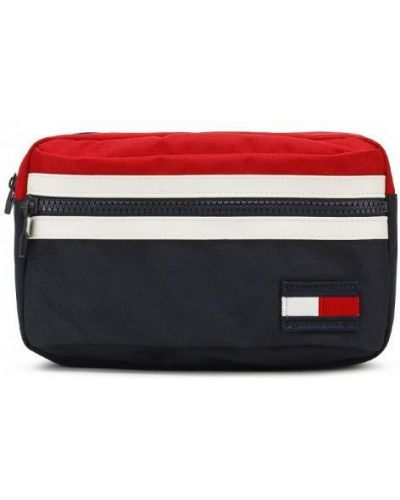 Поясная сумка текстильная Tommy Hilfiger