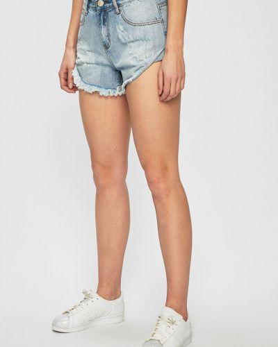 Джинсовые шорты синий с карманами Glamorous