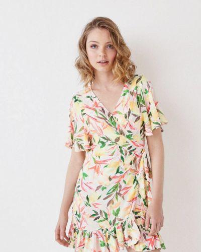 Пляжное платье весеннее желтый Women'secret