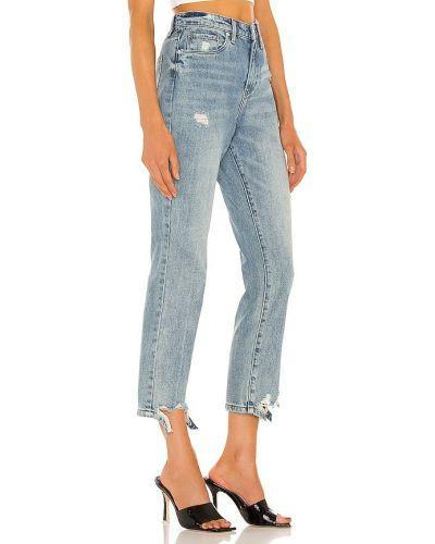 Niebieskie mom jeans bawełniane Blanknyc