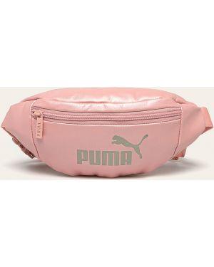 Поясная сумка маленькая кожаная Puma
