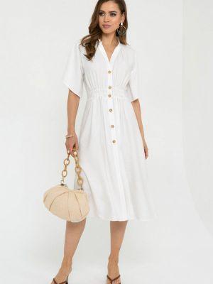 Повседневное белое платье Gold Chic Chili
