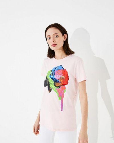 Розовая футболка Iceberg